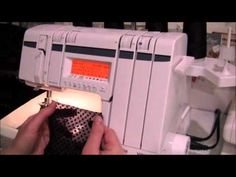 How to sew a ruffle with a serger