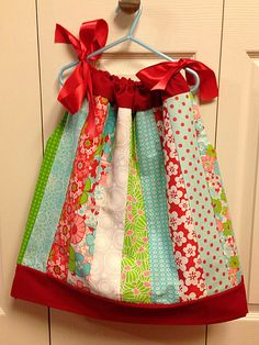 Jelly roll pillowcase dress
