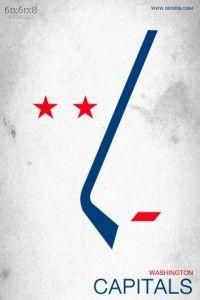 Art Minimalist NHL Logos hockey