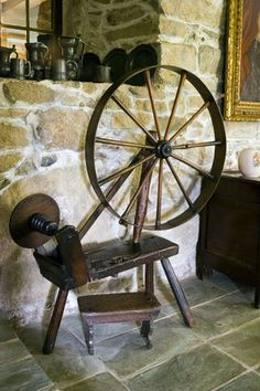 Even if I never learned to spin...I'd want one of -these- beauties.