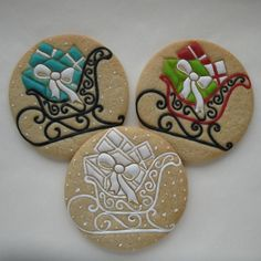 Christmas Sleigh's | Cookie Connection