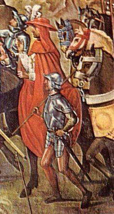 Juan de Borgoña: Conquista de Orán (1514). Detalle con el Cardenal Cisneros (1514)