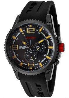 Price:$119.00 #watches Red Line 50031-BB-01YL, Showing a smart blend of contemporary and classical styles, this Red Line timepiece is a handsome addition to any man's wardrobe.