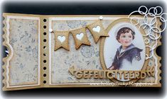Mini Scrapbook Albums, Mini Albums, Ticket Card, Marianne Design, Studio Lighting, I Card, Stamp, Projects, Christmas