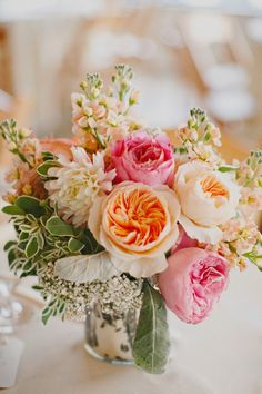 Garden roses, stocks, beautiful. apryl ann photo