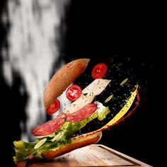 Food, Sandwich, Flying Food, Movement, Food #food, #sandwich, #flyingfood, #movement, #food