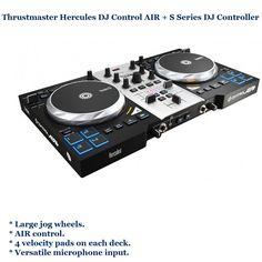 Thrustmaster Hercules DJ Control AIR + S Series DJ Controller