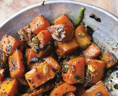 Ottolenghi's Squash with Cardamon and Nigella Seeds  | Plenty More Recipes | Healthy Blender Recipes