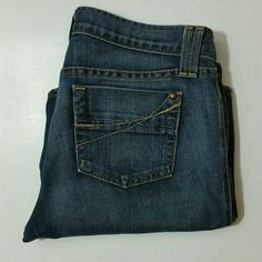 Gap Ultra Low Rise Ankle Bootcut Denim Gap Ultra Low Rise Ankle Bootcut Denim. EUC.  Waist 16.5 Rise 8.5 Inseam 30 Leg opening 10  No Trade or PP.  Offers Considered.  Bundle discounts. GAP Jeans Boot Cut