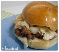 Slow Cooker Pulled Pork with Root Beer BBQ Sauce