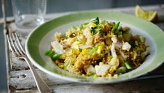 If you like kedgeree, you'll love this one-pot pilaf recipe - perfect for an informal supper or brunch.