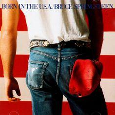 Carátulas de música Frontal de Bruce Springsteen - Born In The Usa. Portada cover Frontal de Bruce Springsteen - Born In The Usa