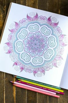 Destress with in a gorgeous coloring book using @pinprismacolor pencils and markers! Find them at @michaelsstores + be sure to get coupons for additional savings, in newspapers and online! #relaxandcolor #ColoringwithMichaels #PMedia #ad