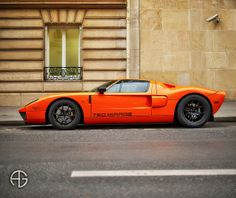 Can you see me now? Ford GT 720 MIRAGE by Avro Motorcars, Paris, France