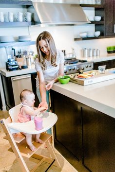 Homemade Baby Food Recipes | Camille Styles - Great post with some useful tips - 10 month baby