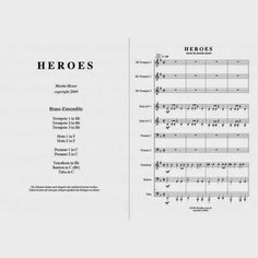 """Heroes"" Brass-Ensemble"