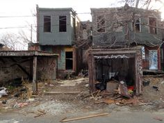 Backyards, Tioga, North Philly.