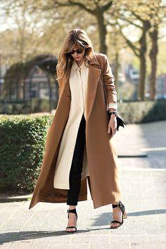 Charlie May Coat, Ganni Shirt Dress, Céline Sandals