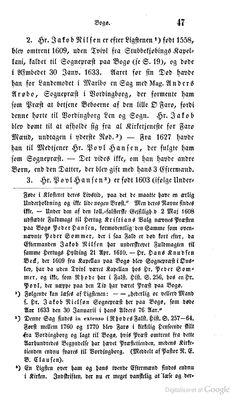Oplysningerne i note 2 er upræcise mht. kronologi og substans. Se de tidligere pinnede kongelige reskripter af 1754 og 1805 for den korrekte fremstilling af sagen om Farøs henlæggelse til Bogø.
