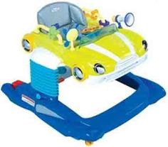 Steelcraft Beepa 4 in 1 Walker Lime - Walkers - Toys, Bouncers, Trikes   The One Stop Baby Shop   Baby Bunting