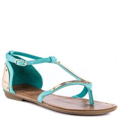 ZiGi Girl  Arrow  Mint Fx Heels