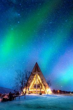 ♥ Arctic Cathedral, Norway