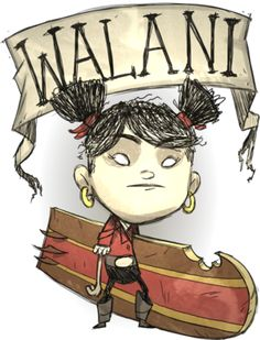 Walani | Don't Starve Shipwrecked