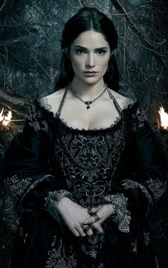 Mary Sibley....Salem  Black silk and silver bullionwork gown made by hand...