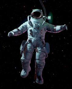 Astronaut - Game Character, Frederik A. Plucinski on ArtStation at https://www.artstation.com/artwork/nZ8G1