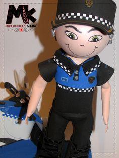 Fofucho Policía | Fofuchos Personalizadas