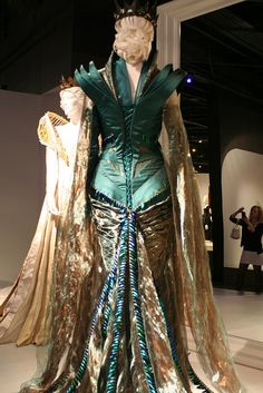 Colleen Atwood - Snow White and the Huntsman...Beetle Wing Dress