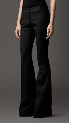Tailored Flared Trousers | Burberry