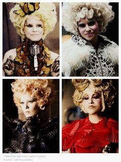 New Capitol Couture Effie Trinket Stills <3