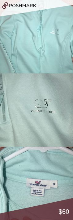 Vineyard Vines Shep Shirt Mint green 1/4 zip Vineyard Vines Other