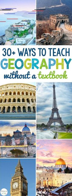 This link has a lot of creative and unique ways of having kids learn geography in hands-on and interactive ways. Here are hands on ways to teach geography, ranging from geography games to the layers of the earth with cake, without a textbook! Geography Lesson Plans, Ap Human Geography, Geography Activities, Geography Worksheets, Geography For Kids, Physical Geography, Social Studies Activities, Geography Quotes, Geography Revision