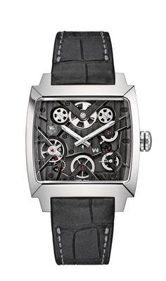 Copia TAG Heuer Monaco V4 reloj WAW2080.FC6288
