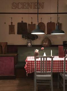 Interior design, restaurant. By Anni Gram.