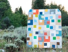 Gridwork Quilt by Christa Quilts
