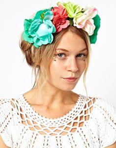 ASOS Bouquet Garland Headband