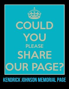 KENDRICK JOHNSON MEMORIAL PAGE https://www.facebook.com/pages/Kendrick-johnson-memorial/350217198455813