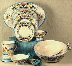 We ONLY feature genuine Italian hand painted ceramic dinnerware masterfully hand decorated by old school artists from Deruta Amalfi and Faenza. & We ONLY feature genuine Italian hand painted ceramic dinnerware ...