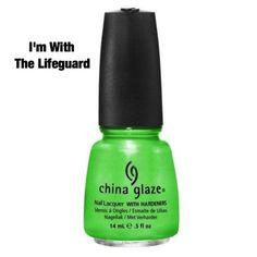 "China Glaze ""I'm With The Lifeguard"""