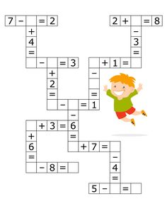Coloring Pages, Education, Learning: Math Activities Preschool Printables Kindergarten Kids Math Worksheets, Maths Puzzles, Preschool Printables, Preschool Activities, Adjectives Activities, 1st Grade Math, Kindergarten Math, Teaching Math, Math Addition