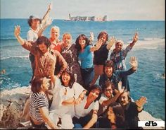 Gönül Yazar, Ersen, Semiha Yankı,  Esmeray, Ayten Alpman , Tanju Okan, Seyyal Taner (1970ler) #Mersin #nostalji #eskiresimler