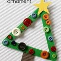 Find Easy Christmas Crafts for kids including preschool Christmas crafts.They will love these holiday crafts for Christmas craft ideas for children. Christmas Ornament Crafts, Noel Christmas, Christmas Projects, Simple Christmas, Holiday Crafts, Christmas Decorations, Easy Kids Christmas Crafts, Diy Ornaments, Picture Christmas Ornaments