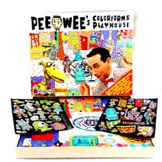 The ultimate gift for the one who is a Pee-Wee Herman fan or loves kitschy things. Ah, Pee-Wee Herman. Loved the show and Pee-Wees Big