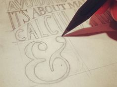 Learn Hand Lettering - This is the new skill that I want to pick up...Here goes nothing!