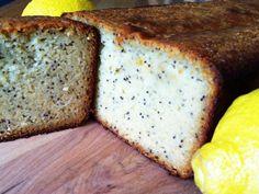 GAPS Diet Recipe - Grain free Lemon Poppyseed Bread.