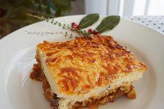 Kitchen Stories: Pork Ragù with Pasta & Bechamel Sauce Pork Ragu, Bechamel Sauce, Kitchen Stories, Lasagna, Pasta, Diet, Cooking, Ethnic Recipes, Sauce Recipes