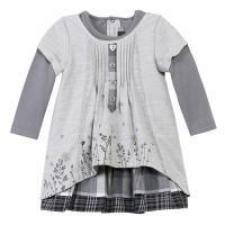 Catimini girls clothing - grey dress